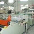 塑料板材生产线的操作方法